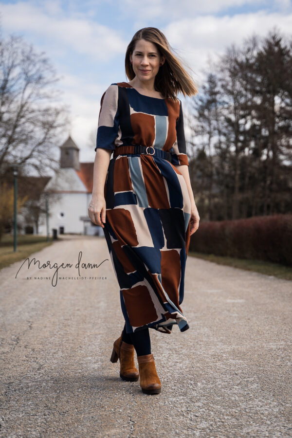 Schnittmuster Kleid Kala